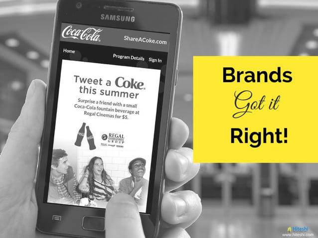 Brands Got it Right! www.hiteshi.com
