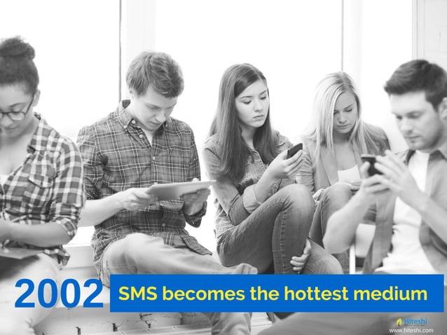 2002 SMS becomes the hottest medium www.hiteshi.com