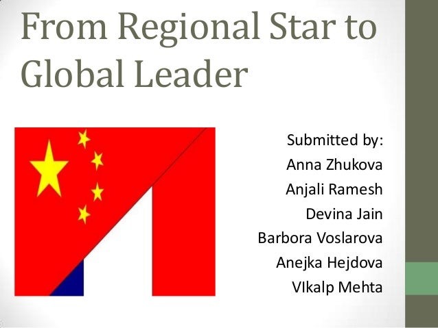 from regional star to global leader A presentation on case study based uppon multiculture problems about a chinese manager in french corporation.