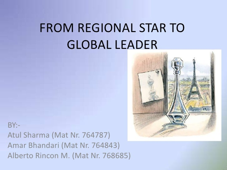 From regional star to global leader hbr