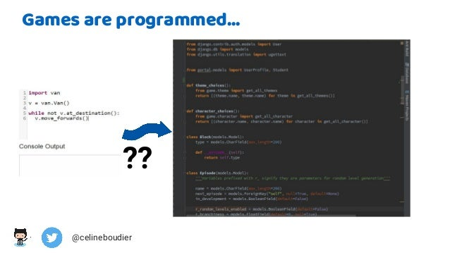From robots to online coding games, the different uses of python