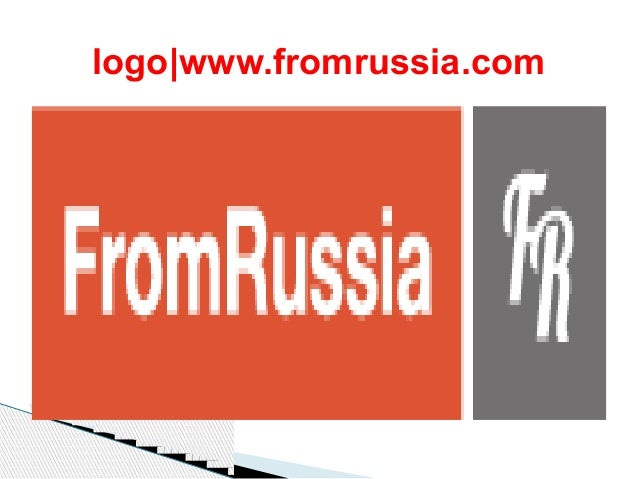 logo www.fromrussia.com