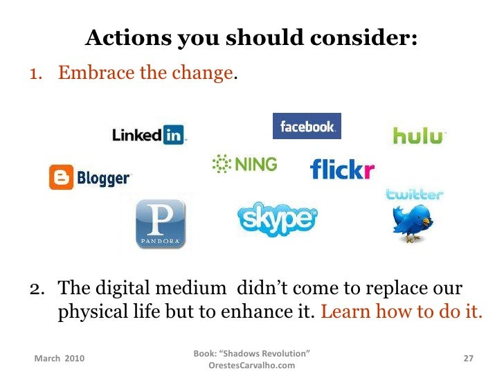 Actions you should consider:<br />Expand and keep in touch         with a larger network.<br />Learn how to use the  ...
