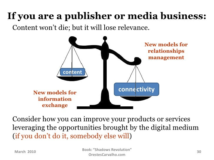 and  find out answers through people rather  than search engines.</li></li></ul><li>If you are a publisher or media busine...