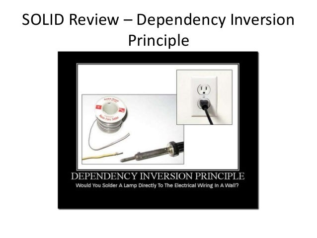 SOLID Review – Dependency Inversion Principle