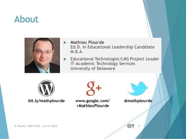 From social media presence to public engagement - DelPHI 2016 Slide 2