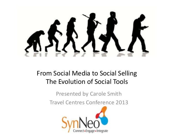 From Social Media to Social Selling The Evolution of Social Tools Presented by Carole Smith Travel Centres Conference 2013