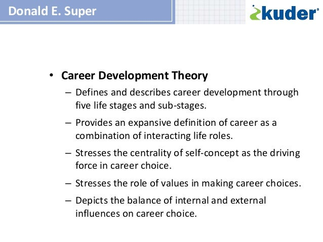 essays on career development