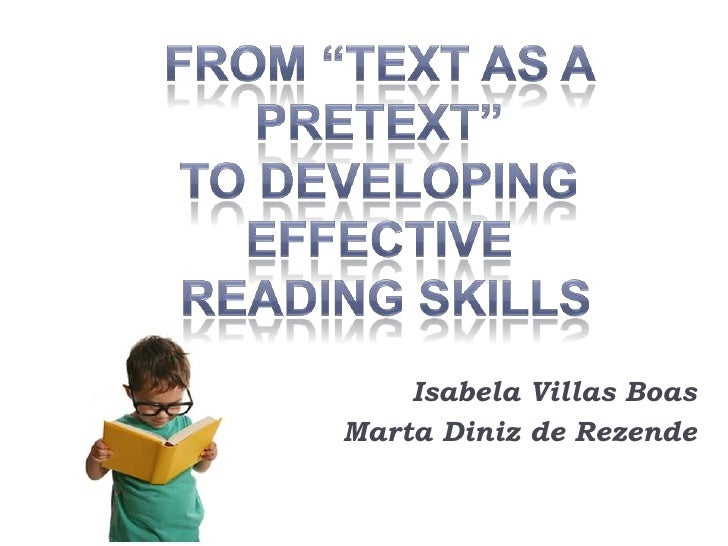 Effective institutional strategies improving reading skills