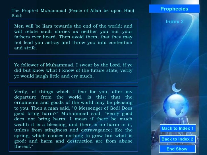 From The Prophet Says