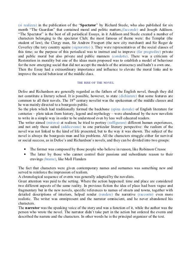 The periodical essay