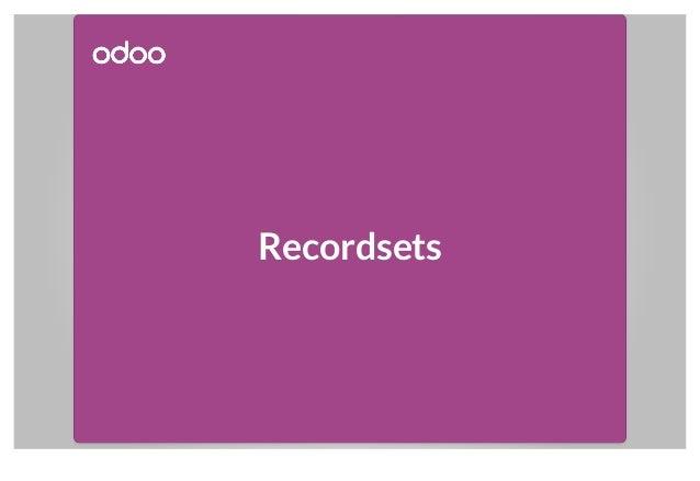 Recordsets