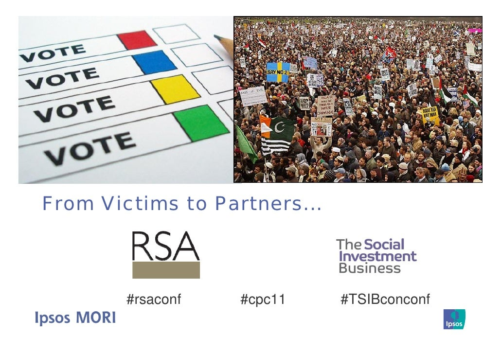 From Victims to Partners...        #rsaconf   #cpc11     #TSIBconconf