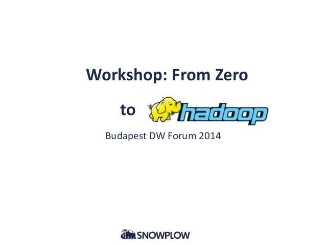 Workshop: From Zero to _ Budapest DW Forum 2014