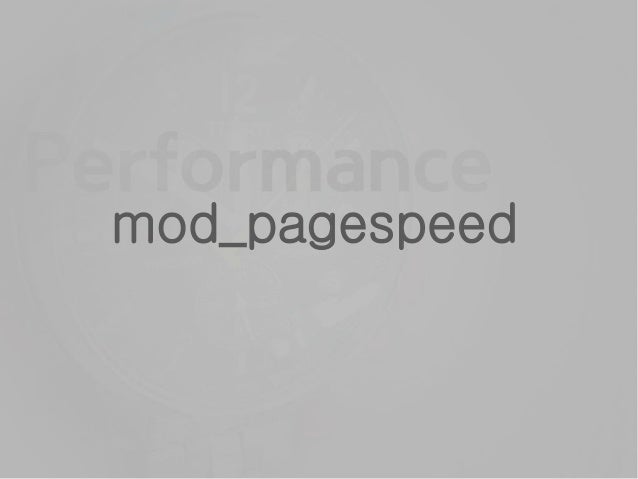 pagespeed module OFF YSLOW