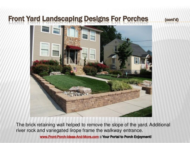 Dramatic front yard landscaping designs