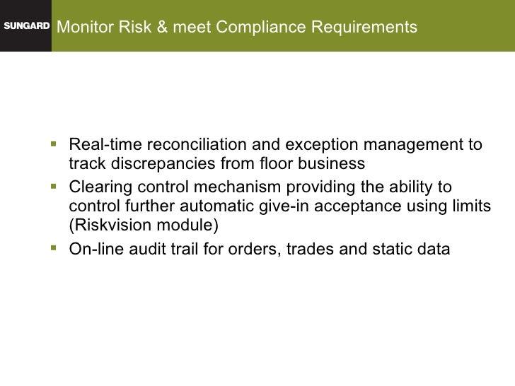 Gl trade order management system