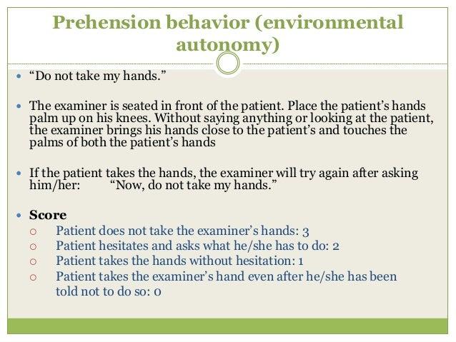 "Post Graduates (in) Medicine Learning Some Concepts  P Prehension Orbitofrontal  G Go-No-Go ""  M Motor series dorsolate..."