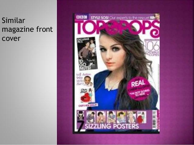 Similar magazine front cover