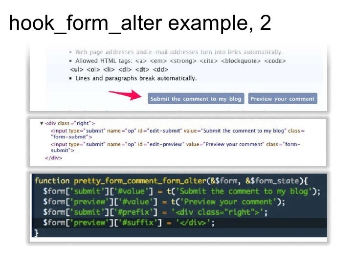 drupal 7 theme hook form alter Drupal answers is a question implementing hook_field_widget_form_alter() (this function should be placed in the templatephp file in the theme folder and the.