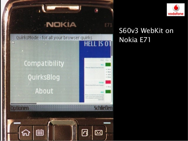 skyfire not working on nokia e71