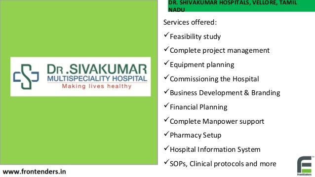 hospital business plan in india