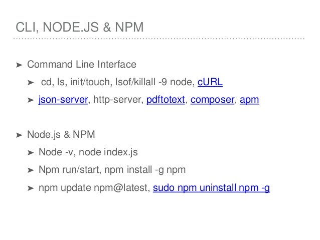 How To Uninstall Npm Using Command Prompt Installing Nodejs
