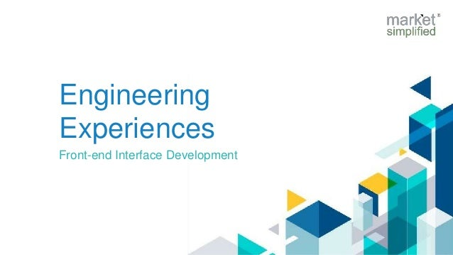 Engineering Experiences Front-end Interface Development