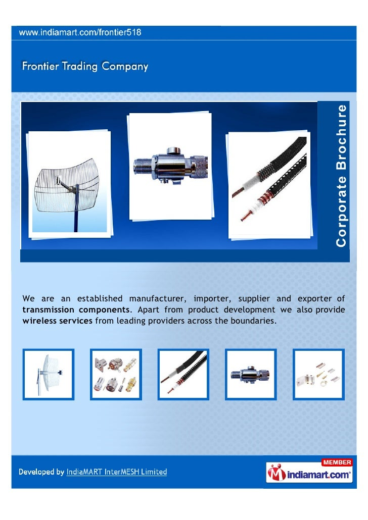 We are an established manufacturer, importer, supplier and exporter oftransmission components. Apart from product developm...
