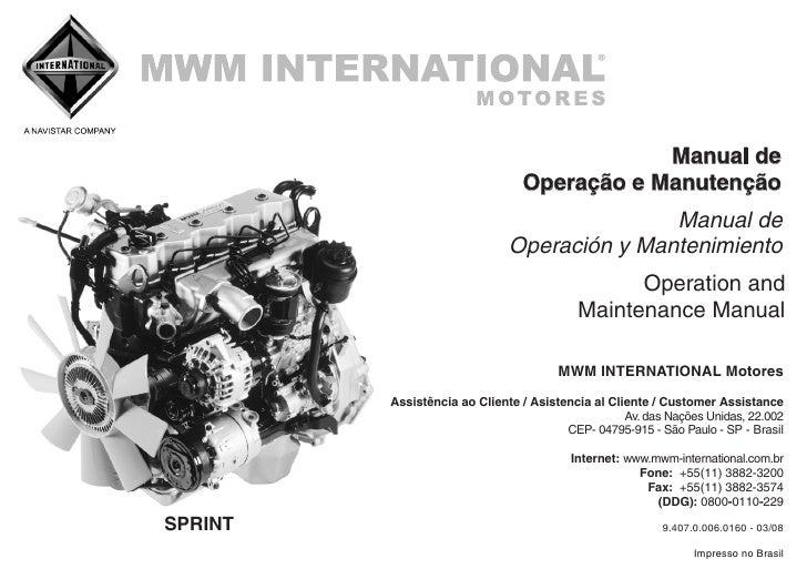 frontier manual de operacao e manut mwm rh slideshare net  mwm sprint 4.2 manual