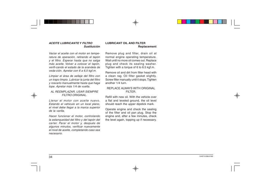 Frontier manual de operacao e manut. mwm