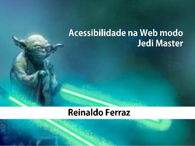 Acessibilidade na Web: A quem se destina?