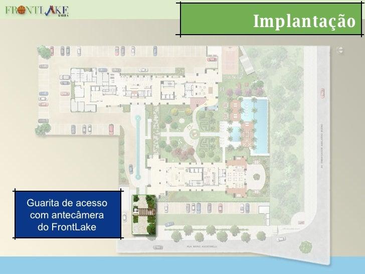 Implantação Guarita de acesso com antecâmera do FrontLake