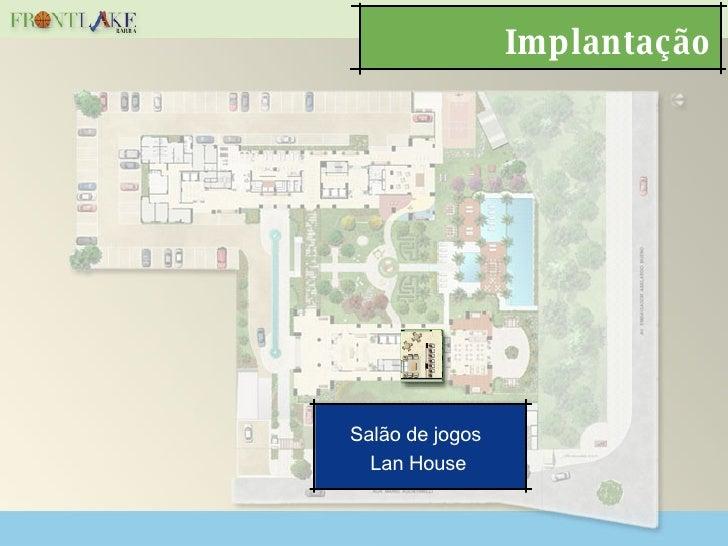 Implantação Salão de jogos  Lan House