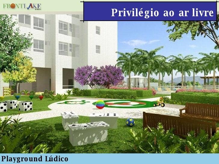 Privilégio ao ar livre Playground Lúdico