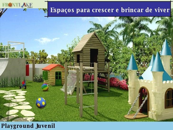 Espaços para crescer e brincar de viver Playground Juvenil