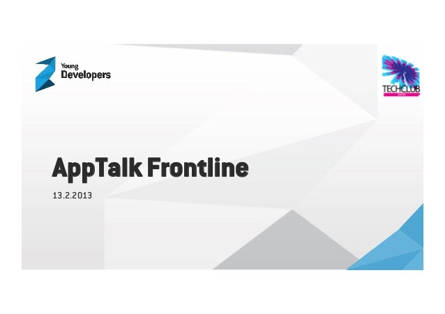 AppTalk Frontline13.2.2013