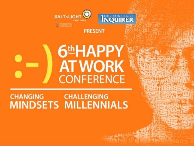 """2015 Frontline Management Profiling Study: Potentials and Pitfalls in Leading Millennials"" Liza Manalo-Mapagu, CEO, HR Av..."
