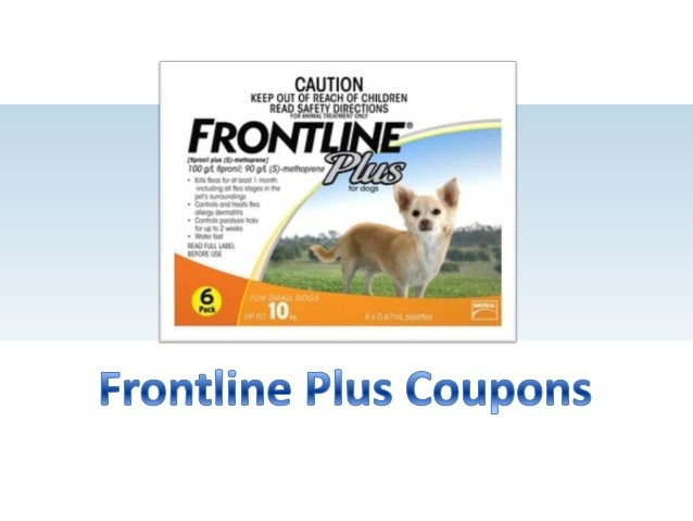 Frontline Plus Coupons and Promo Codes