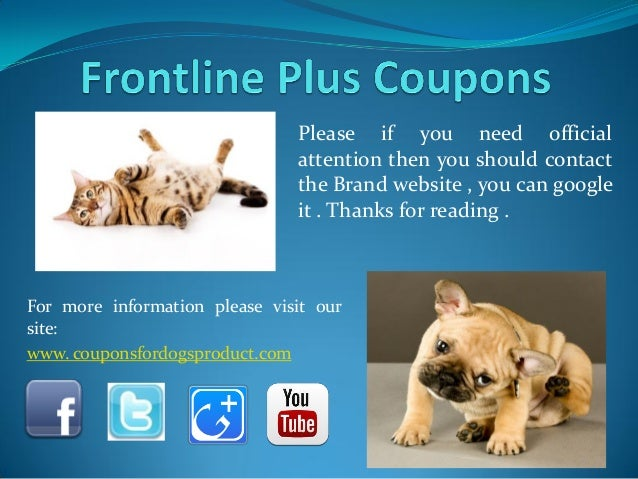 graphic relating to Frontline Coupons Printable named Coupon for frontline - Osborne chiropractic