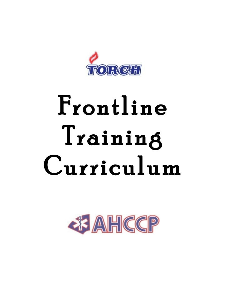 Frontline Training Literature Review