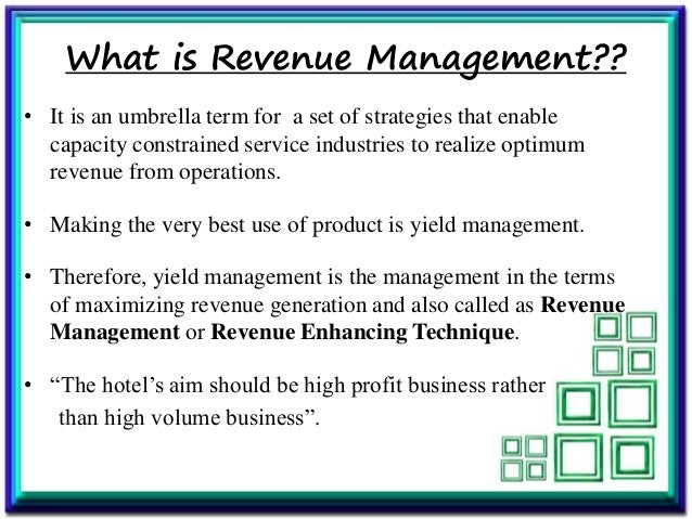 revenue management techniques in hospitality industry Revenue managers should be working closely with their director of sales   guest data, which can be used to improve your pricing and marketing strategies   leonardo is a technology company serving the global hospitality industry.