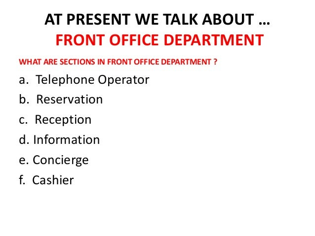 Front office departments for Tattoo shops hiring front desk