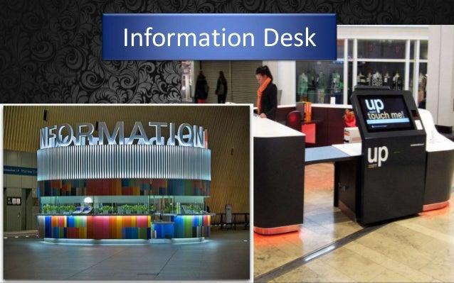 Information Desk Design