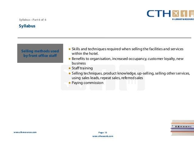 front office operations syllabus Syllabus - aci operations certificate – 25042013 1 gesamtfinanzmarkt und front-to-end handelsüberblick gesamtziel: die kandidaten sollten die rollen der einzelnen teilnehmer im finanzmarkt beschreiben können und erläutern, wie treasury trading und sales.
