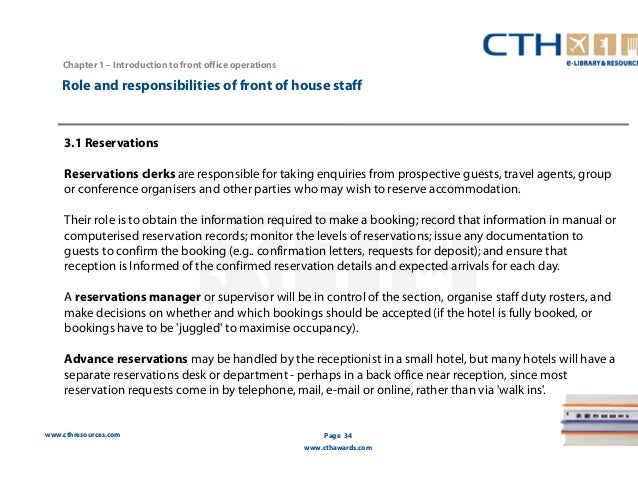 role of front office in the hotel industry tourism essay Front office is the face of the hotel and it has all the responsibility to ensure that all the guest needs are full filed and the request of the guest are taken care off the better coordination between the guest and the hotel is through front office the gss of the guest is always passed through the front office and the guest calls front desk.