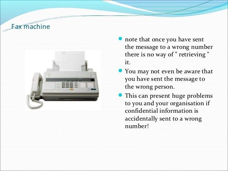 define fax