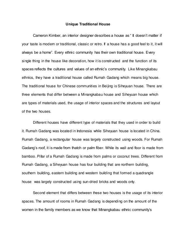 english i essay writing