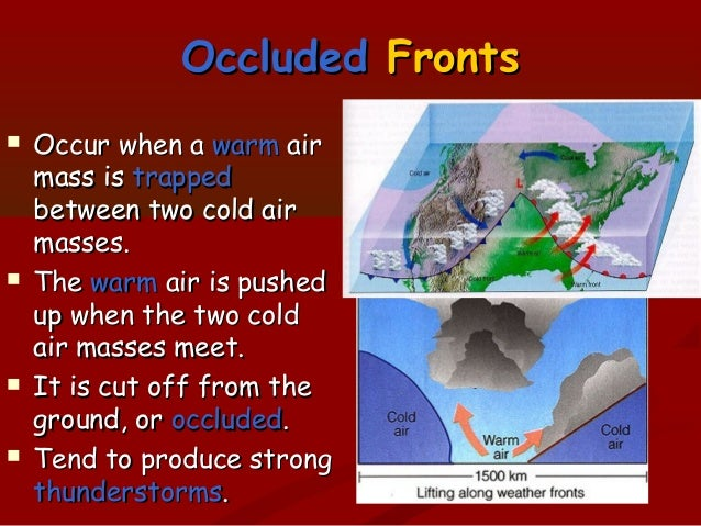 Fronts And Air Masses - Air masses map of us