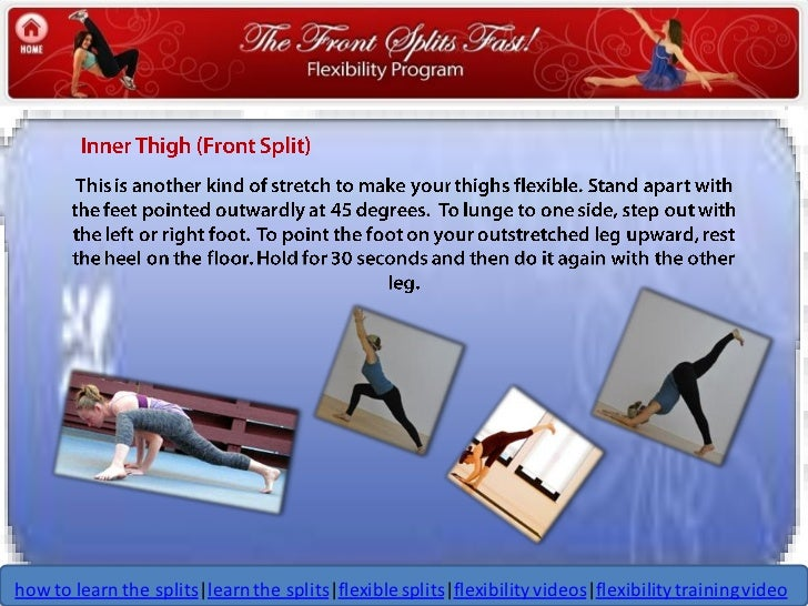 Front splits fast how to learn the splits seven more stretches to…